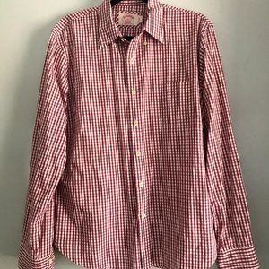 Brooks Brothers Cotton Button Up Size L